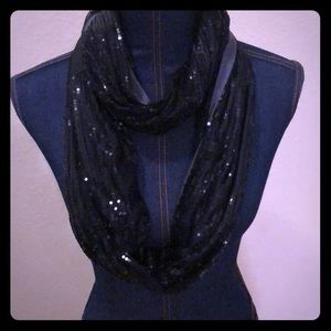 Beautiful Sequence Scarf